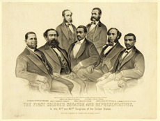 First African American Congressmen