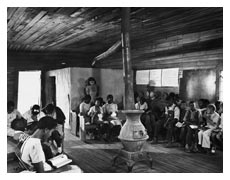 A segregated school in Georgia