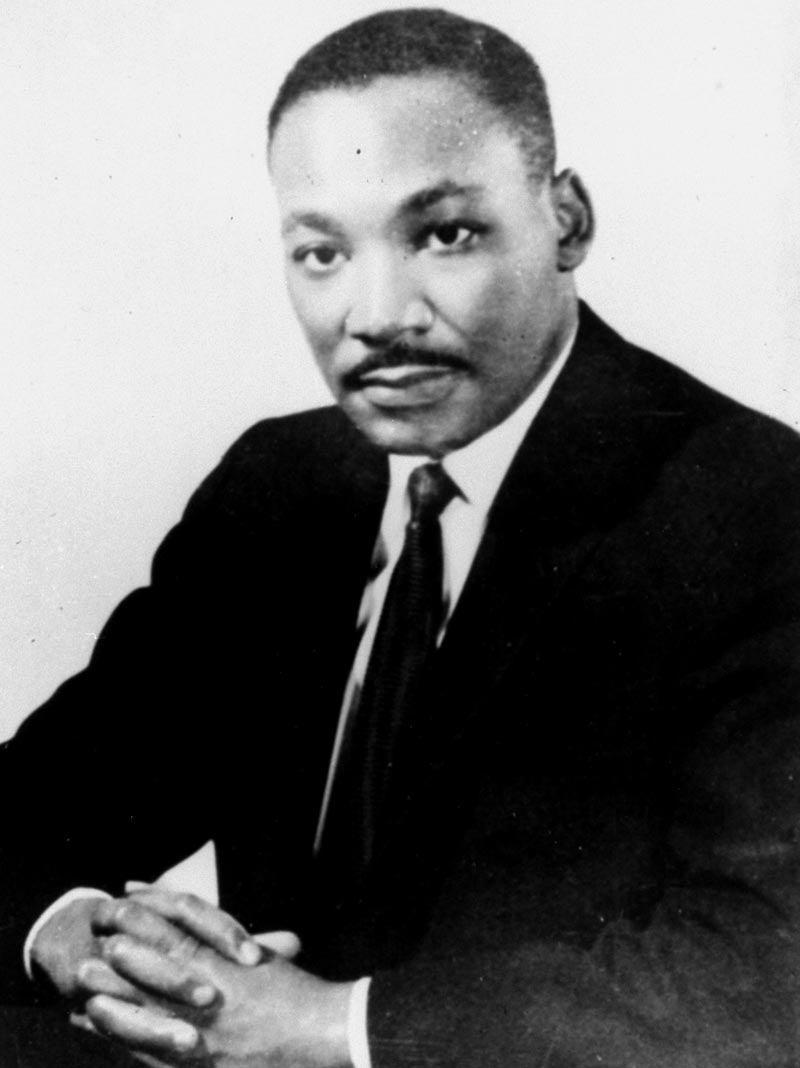 dr martin luther king jr Your article on martin luther king jr was very enlightening i have a friend here at work who was doubting the man that many of his friends follow, and he asked me to.